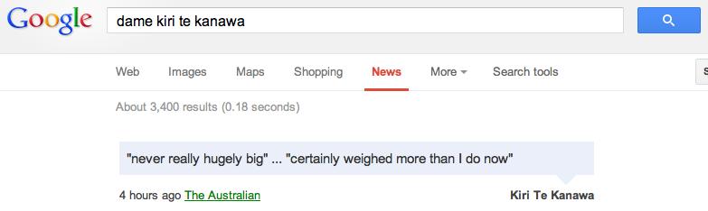 not hugely big